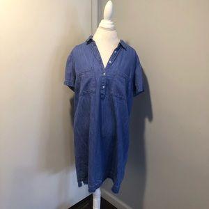 Old Navy Chambray Dress Size XL